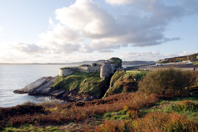 Fort Dunree is one of the many attractions popular with tourists and locals across the north west. (Picture Hugh Gallagher)