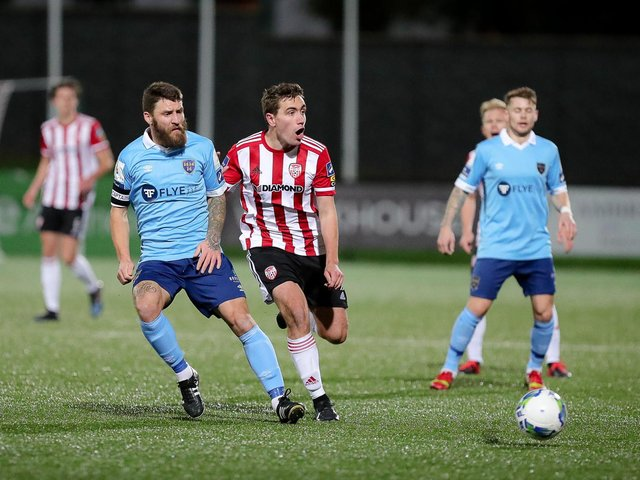 Joe Thomson hopes to be involved in the crunch clash with Dundalk at Brandywell.