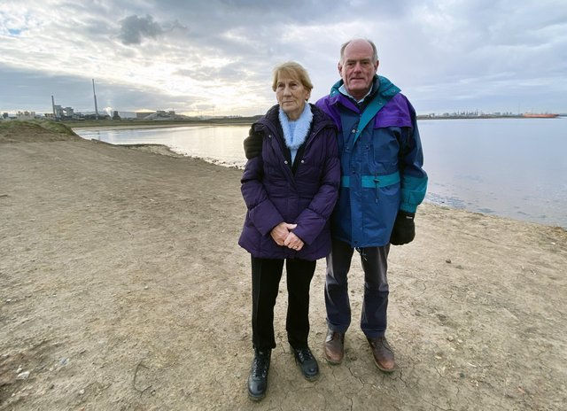 Doris 81, and Charles Clark, 78, parents of Steven Clark