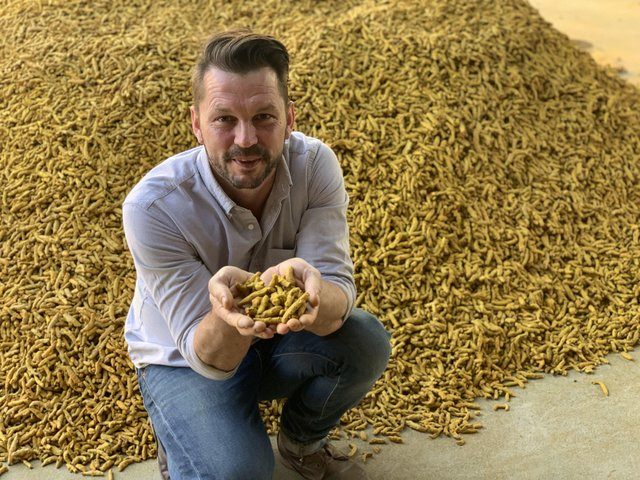 Jimmy Doherty with turmeric