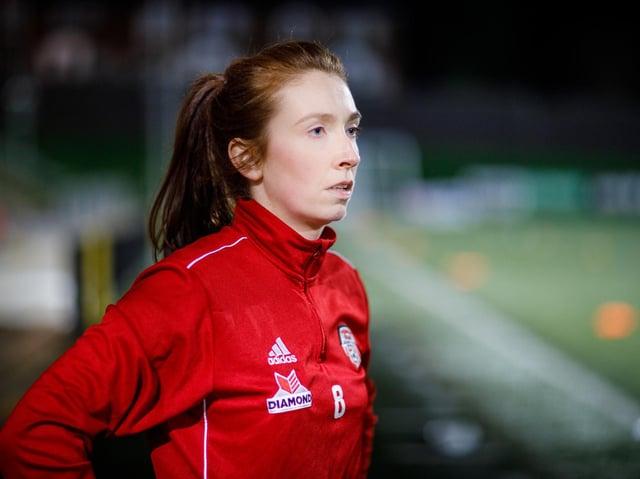 Derry City Women's midfielder Caoimhe Logue. Picture courtesy John-Paul McGinley