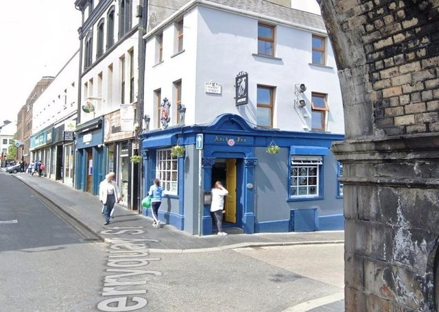 The Anchor Bar in Derry.
