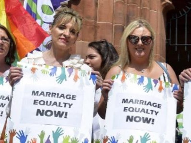 The current Derry Sinn Féin MLAs Martina Anderson and Karen Mullan