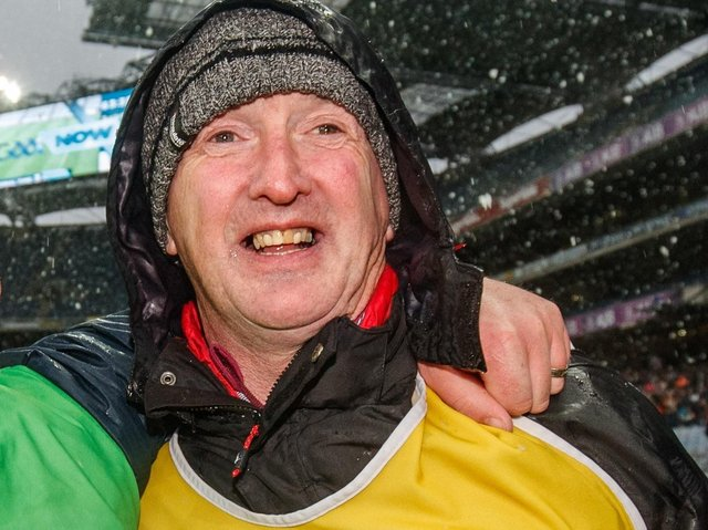 Dominic 'Woody' McKinley is part of the new Derry hurling team alongside Cormac Donnelly, the pair getting their season underway on Sunday with a tough trip to Mayo.