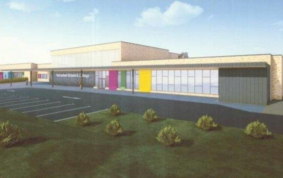 Plans for the new school.