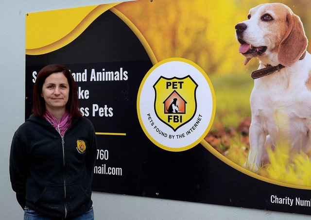 Owner/manager Lisa Patton pictured at the Pet FBI shelter, formerly the DCSDC Dog Pound, in Pennyburn Industrial Estate. DER2118GS – 024