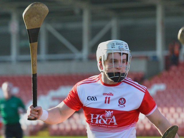 New Derry hurling captain Cormac O'Doherty.