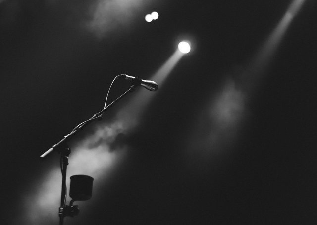 The sound of silence.... concert venues across the north west lie empty in what has been a dififuclt year for people in the music industry. Image by StockSnap from Pixabay