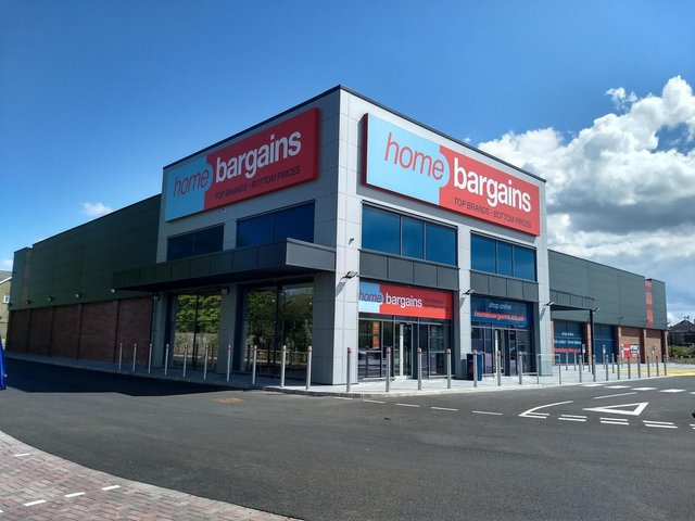 Home Bargains store in Limavady