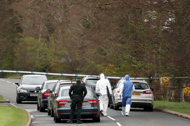 Two men have been arrested in connection with the attempted bombing at the home of a serving police officer near Dungiven last month.