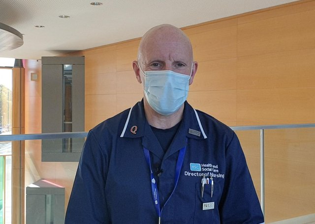 Dr. Bob Brown, Western Trust Executive Director of Nursing, Primary Care and Older People's services.