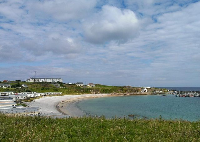 Malin Head: One of the many caravan sites across Donegal frequented by Derry people.