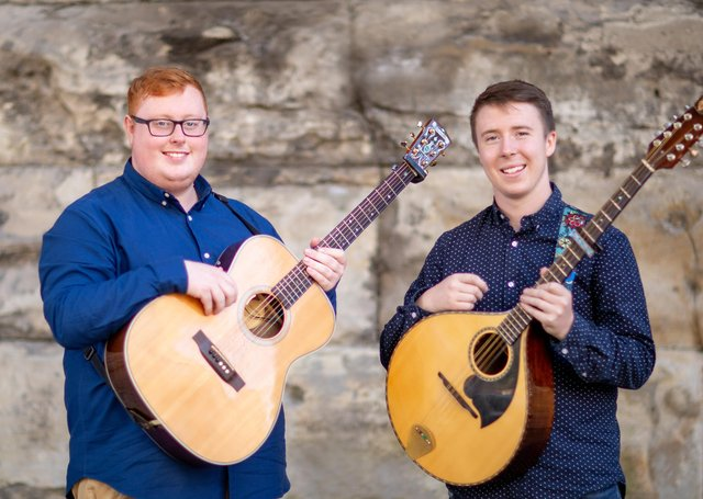 Marty Barry & Cathal Curran are in concert on Saturday, 15th May at 8pm