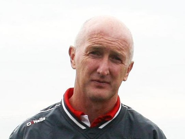 Derry manager Dominic McKinley.