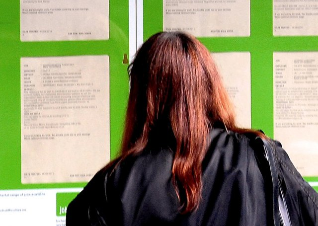 Jobseekers file picture. Rui Vieira/PA Wire