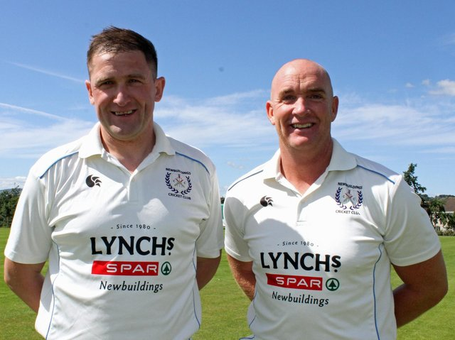 Newbuildings pair Johnny Thompson and Gareth McKeegan will fancy their chances at Bready this weekend.