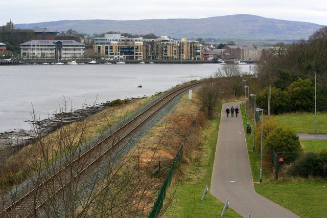 Work on extending the current greenway network out to Strathfoyle will start in December or January.