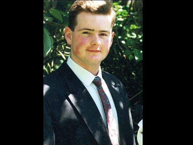 Constable Michael Ferguson, who was shot dead in Derry in 1993.
