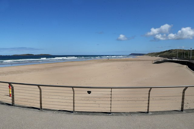 Press Eye - Stock Photos - Covid19 - 13th May 2020Photograph by Declan RoughanPortrush - East Strand