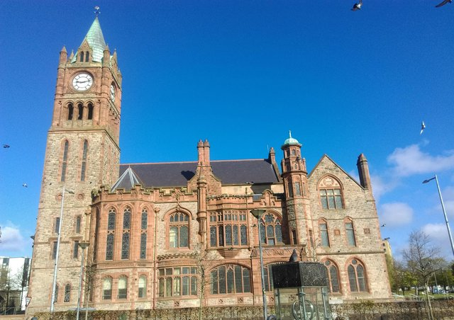 The Guildhall. The seat of Derry City and Strabane District Council.