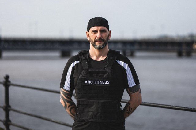 Gary Rutherford will be running five marathons in five days while wearing a 22lb weighted vest as part of the 'No Shame' campaign