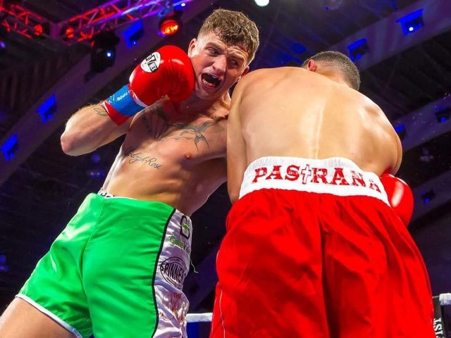 Connor Coyle is back in action in Cancun, Mexico against big hitter Edgar Ortega on Friday night.
