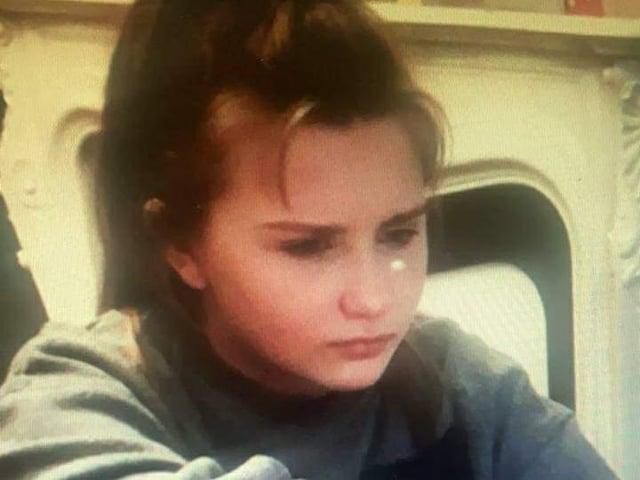 Missing teenager Anastasia.