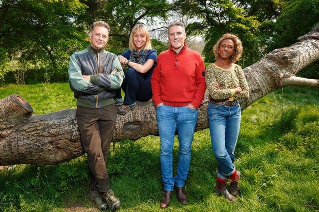 Chris Packham, Michaela Strachan, Iolo Williams and Gillian Burke