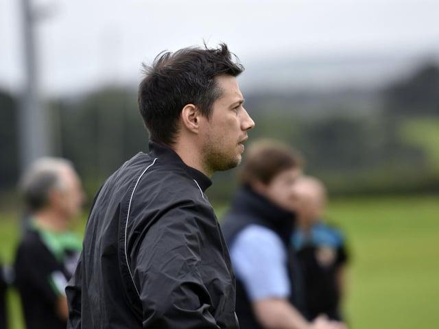 New City of Derry Head Coach, Richard McCarter