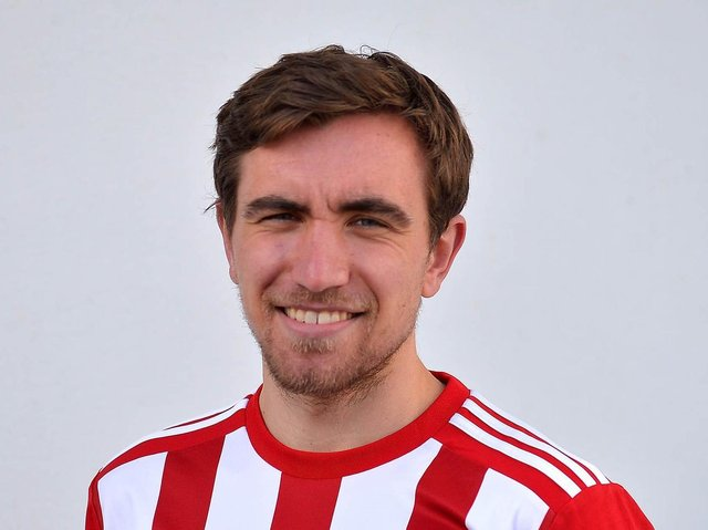 Derry City's Joe Thomson fired home his third goal for the club, against St Patrick's Athletic, on Monday night.