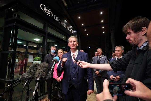 New DUP Leader Edwin Poots.  Photo by Kelvin Boyes / Press Eye