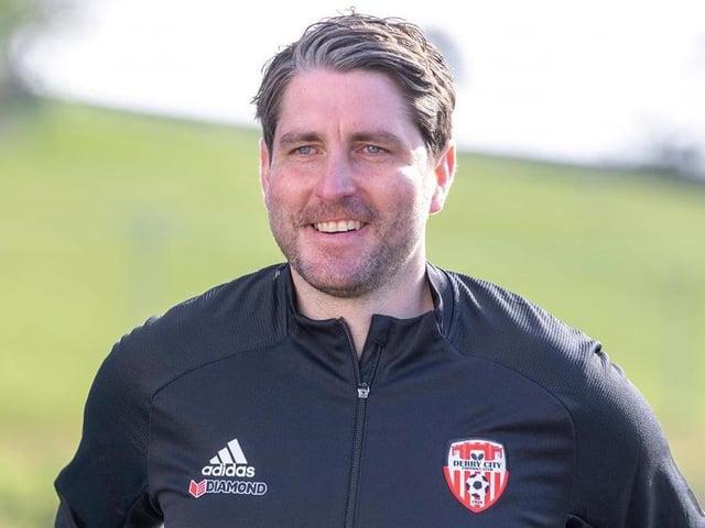 Derry City manager Ruaidhri Higgins.