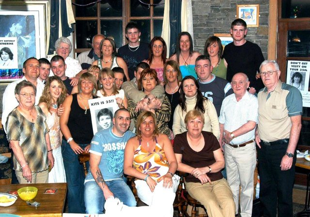 Catherine McMonagle's 35th birthday party was celebrated in style.