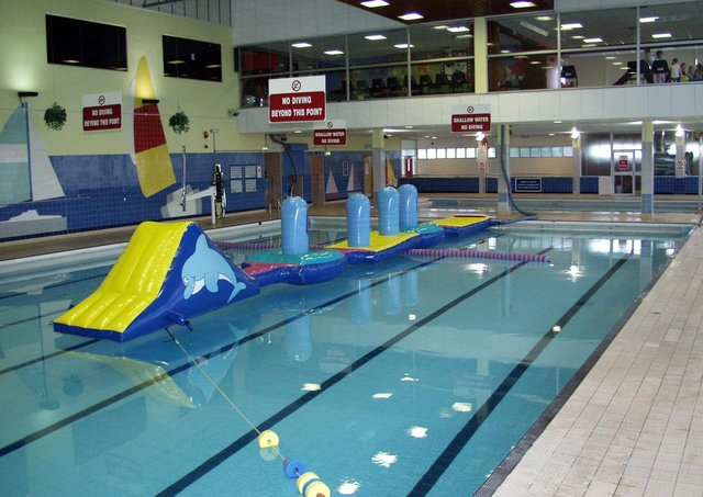 The pool at the Templemore Sports complex.