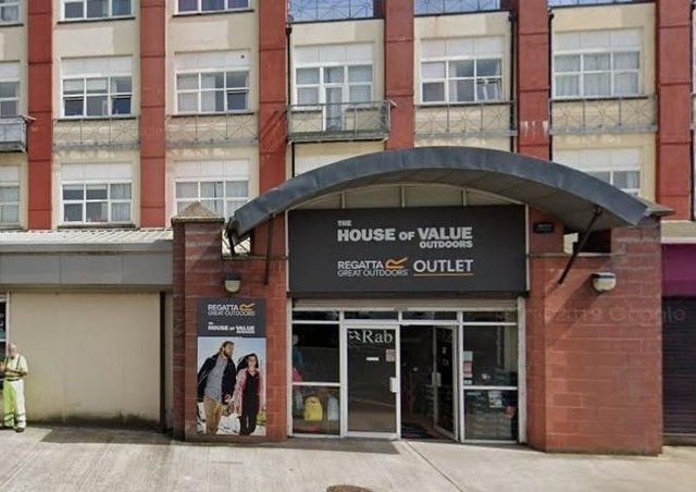End of an era: The House of Value off Strand Road.