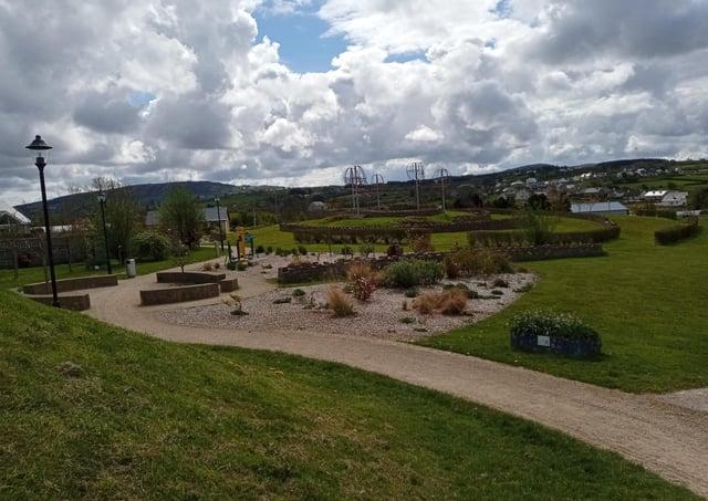 Barrack Hill Park in Carndonagh.