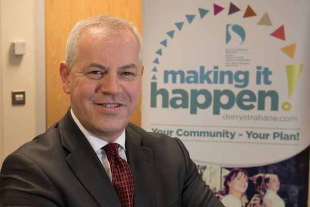 The Chief Executive of Derry & Strabane Council John Kelpie.