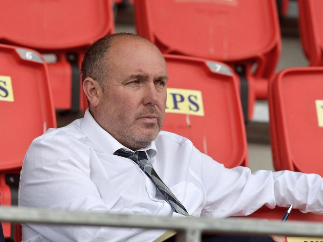 Institute boss Sean Connor is braced for a huge challenge this season.