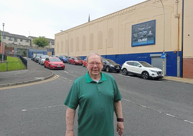 Raymond Rogan has a long association with The Stardust, which he ran for many years on behalf of the parish.