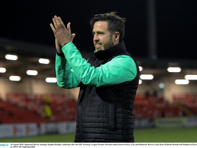 Can Stephen Bradley guide Shamrock Rovers to successive league titles?