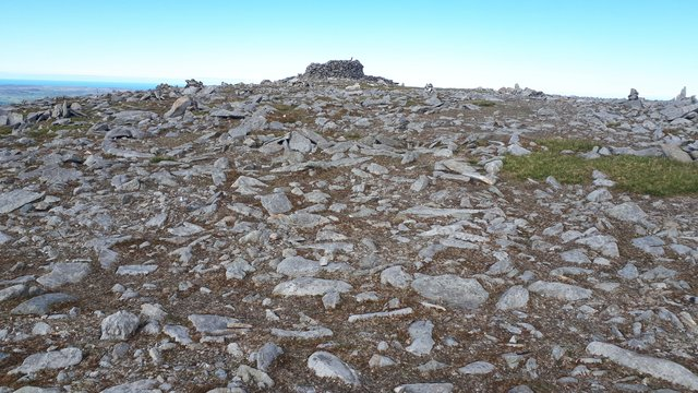 The summit of Slieve Snaght.