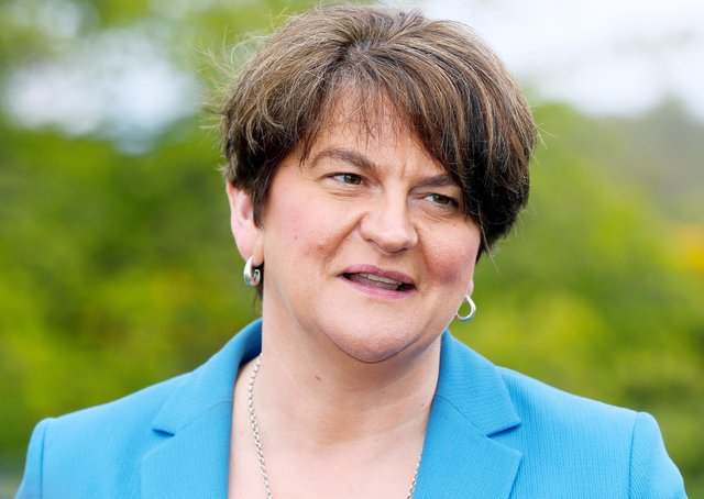 First Minister Arlene Foster.   Picture by Jonathan Porter/PressEye