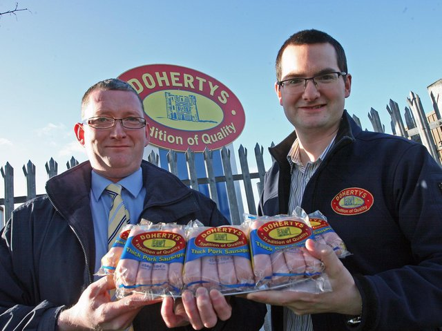 Doherty's famous sausages.