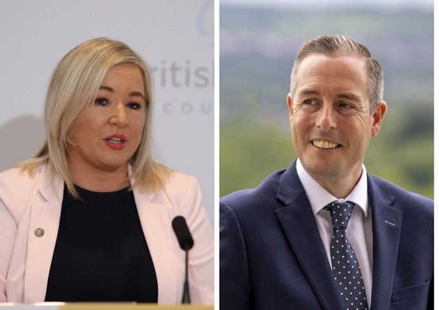OFMDFM : Michelle O'Neill and Paul Givan