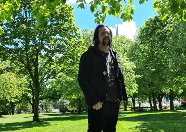 Jarvis in Brooke Park.
