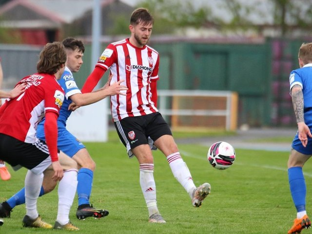 Will Patching could be playing his last game for Derry City tomorrow night.