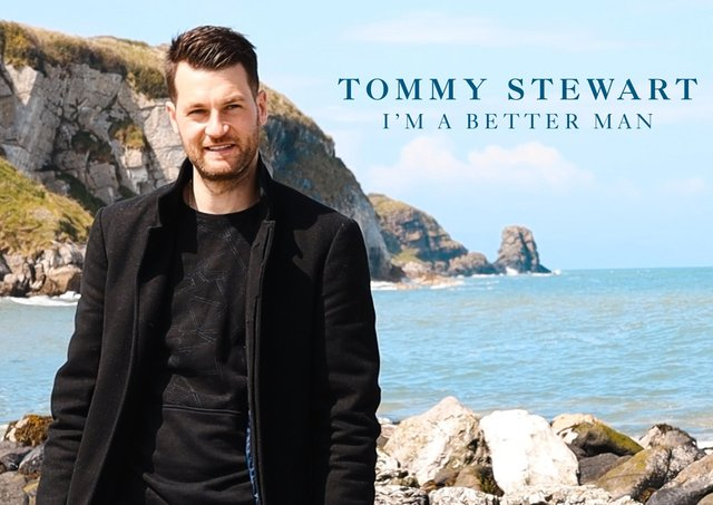Former Irish League player Thomas Stewart has recorded and released a song.