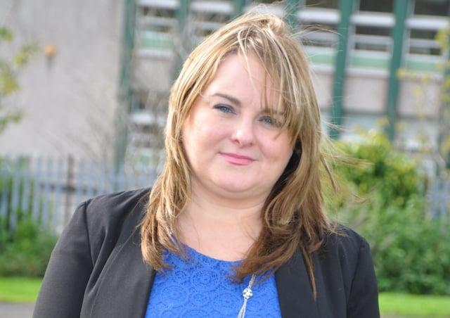 Sinn Fein councillor Sandra Duffy.
