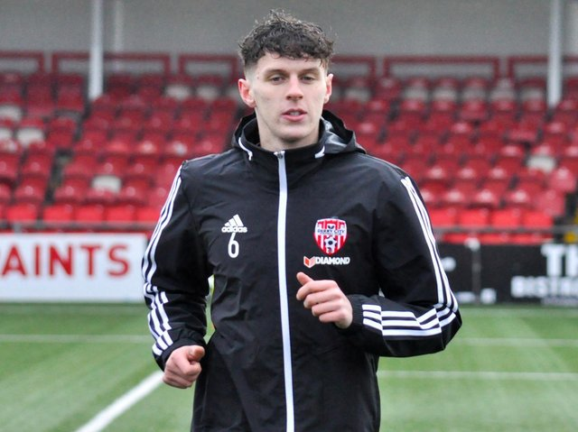 Derry City captain Eoin Toal looks set to miss tonight's clash at Oriel Park.