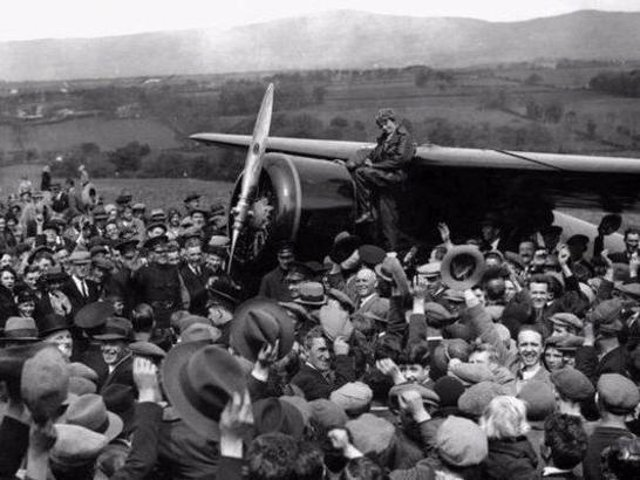 Amelia Earhart. The 90th anniversary of her landing in Derry falls next year.